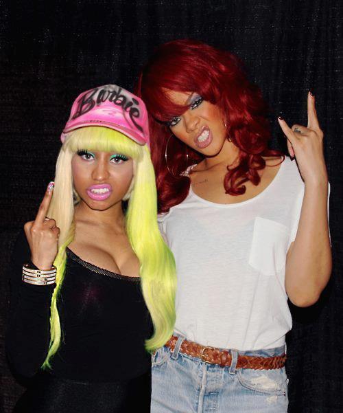 Nicki Minaj & Rihanna ♥ #Cassie&Elisa